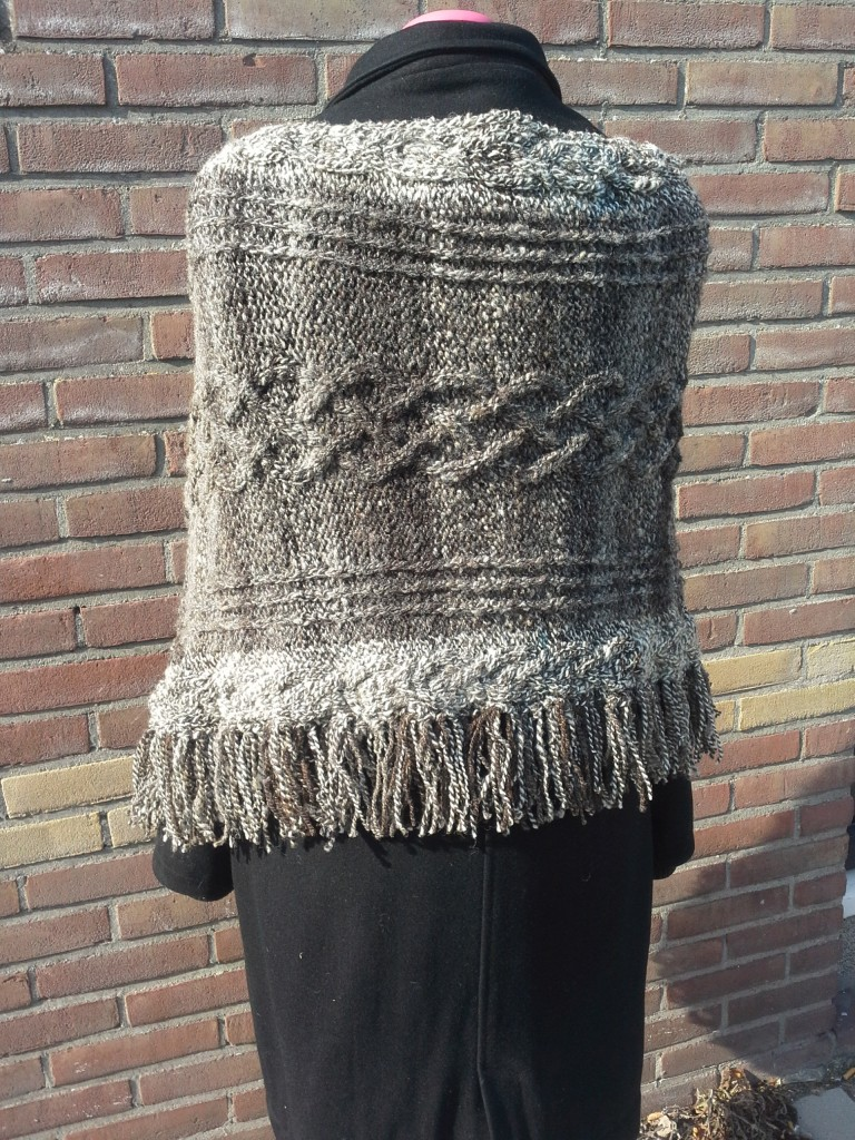 Poncho 10 achter